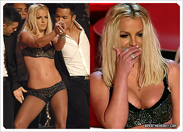 Britney on MTV awards